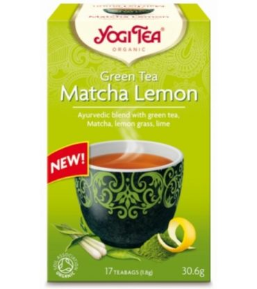 Yogi Tea Green Matcha Lemon Βio 30